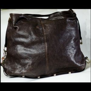 Rebecca Minkoff Bags - Rebecca Minkoff Nikki Hobo Brown Leather Lg Purse